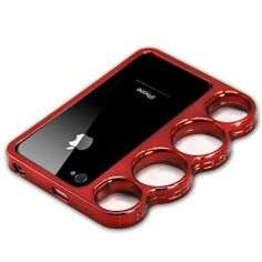 Knuckle Bumper Case for iPhone 4S / 4 - Red dklmobile18 http://www.amazon.com/dp/B0092HO29M/ref=cm_sw_r_pi_dp_YcCNtb0XXG05NFV8