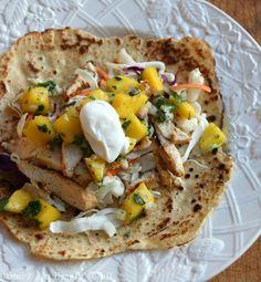 MIH Recipe Blog: Chicken Mango Salsa Tacos {Gluten Free & Diabetic Friendly}