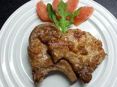Foodie in Translation: Bistecche di maiale al pompelmo rosa