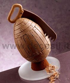 Egg Chocolate Mould Wooden, Moulds for Easter decorations #chocolate #easter buy now the mould on www.decosil.eu