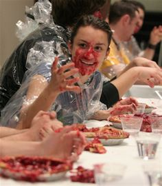 Friday is like the Before picture at a pie eating contest