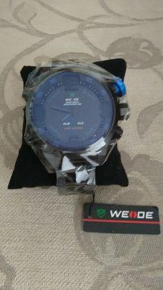 Veja nosso novo produto Relógio WEIDE Militar ! Se gostar, pode nos ajudar pinando-o em algum de seus painéis :)