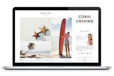 Responsive WP Theme - Coral Craving by Light Morango on Creative Market