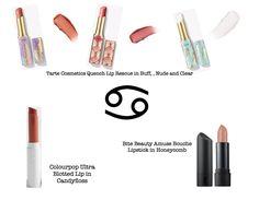 Best lipstick to wear according to your zodiac sing #lipstick  #makeup #zodiac #cancer #zodiacmakeup