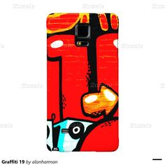 Graffiti 19 galaxy note 4 case