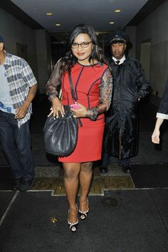 Mindy Kaling, who my husband is in total love with. I don't blame him, she's awesome!