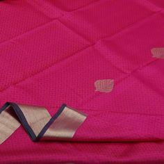 Sarangi Handwoven Kanjivaram Silk Sari - 350126244