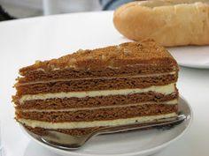 Csehország, nem csak Prága!: Az édes-mézes Medovník torta Vanilla Cake, Food And Drink, Sweets, Cookies, Recipes, Cooking Recipes, Kochen, Sweet Pastries, Crack Crackers