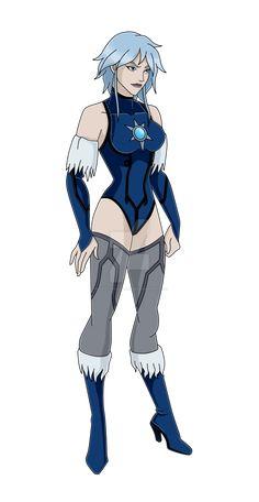 Comm: Killer Frost by nightchyrsanthemum Joker Dc Comics, Dc Comics Girls, Dc Comics Superheroes, Dc Comics Art, Superhero Characters, Dc Comics Characters, Karin Naruto, Cheetah Dc Comics, Gotham