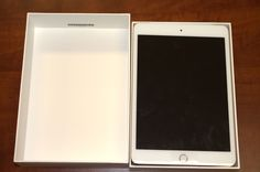 Apple iPad mini 3 Tablet 64GB 7.9in Wi-Fi + 4G LTE (Unlocked) MH392LL/A - Gold - Open Box
