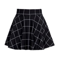 BLACK GRID SKIRT sold by Foreveronline. Shop more products from Foreveronline on Storenvy, the home of independent small businesses all over the world. Edgy Outfits, Mode Outfits, Grunge Outfits, Cute Casual Outfits, Skirt Outfits, Summer Outfits, Fashion Outfits, Cute Skirts, Short Skirts