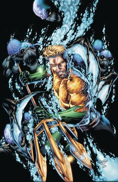 DC COMICS (W) Dan Abnett (A) Vicente Cifuentes, John Dell (CA) Brett Booth, Norm Rapmund Aquaman faces his old enemy, Scavenger, who now has seriously upgraded armored tech! And if that wasn't bad eno