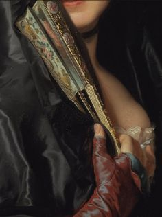 Detail      Alexander Roslin, The Lady with the Veil (The Artist's Wife)        1768!     Aline for Art!