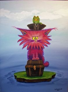 Pirate Cat - by Cynthia Schmidt