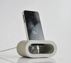 Mobilholder i beton diy