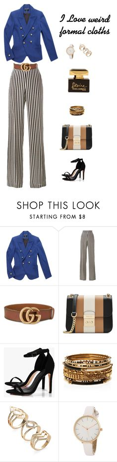 """weird formal"" by leina-elansary on Polyvore featuring Baukjen, Etro, Gucci, MICHAEL Michael Kors, Boohoo, Amrita Singh and Dolce&Gabbana"