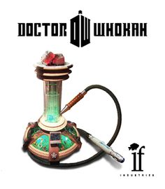 Doctor Who themed hookah  | Come to Lux Lounge in West Bloomfield, MI to relax with friends at a premiere hookah lounge in an upscale atmosphere!  Call (248) 661-1300 or visit www.luxloungewb.com for more information!