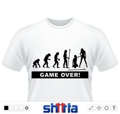 game over jga t shirts on pinterest hochzeit marriage. Black Bedroom Furniture Sets. Home Design Ideas