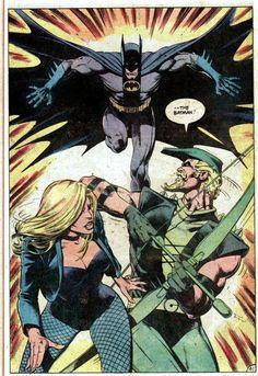 Batman, Green Arrow and Black Canary