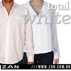 All white para o sábado! #Zan #lookdodia