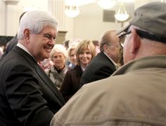 46 #prezpix #prezpixng election 2012 candidate: Newt Gingrich publication: abc news photographer: AP Photo publication date: 3/9/12