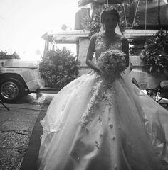 """The beautiful bride White Gowns, White Dress, James Reid, Nadine Lustre, Jadine, Mr Mrs, Formal Dresses, Wedding Dresses, Beautiful Bride"