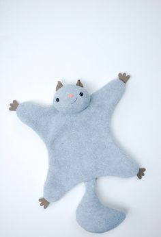 Flying Squirrel softie ~ tutorial