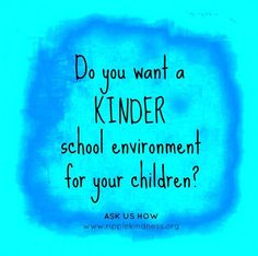"""Is your school teaching kids the positive behaviour that combats bullying to create real and lasting change? Creating a culture of kindness, happiness and success isn't as hard as you think. Find out about our """"kindness curriculum"""" and how it can change the culture of your school here ► http://ripplekindness.org/school-curriculum/ #bullying #positivepsychology #emotionalsocial #mentalhealth"""