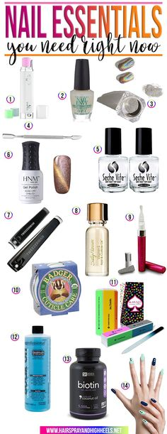 Are you ready for this? I've rounded up all of the best nail essentials you need right now. Not tomorrow, not next week, right freaking now.