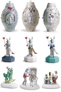 Lladro Fantasy collection by Jaime Hayon