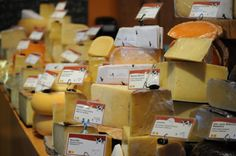 Heaven IS a place on Earth: Trader Joes or some of the other wonderful stores full of delish cheese