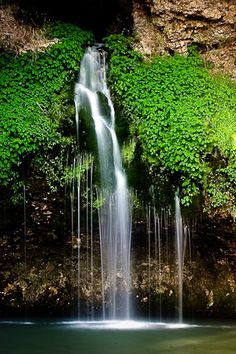 Natural Falls State Park, West Siloam Springs, Oklahoma