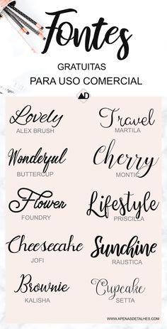 Excellent simple ideas for your inspiration Free Font Design, Graphic Design Fonts, Graphisches Design, Logo Design, Lettering Tutorial, Calligraphy Fonts, Typography Fonts, Aesthetic Fonts, Cricut Fonts