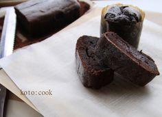 【バター不使用】濃厚だけどヘルシー豆腐ガトーショコラ | 美味しいでハッピーを koto:cook