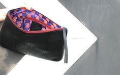 Era Black Clutch. #clutch #Style #fashion #summer #grunge #chic #bags