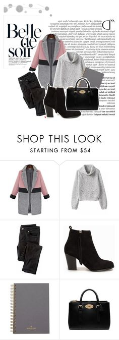 """""""Pop and Block"""" by twinklepink ❤ liked on Polyvore featuring Komar, Balmain, Wrap, Nly Shoes and Mulberry"""