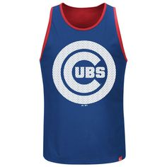 Men's Chicago Cubs Majestic Royal All Last Season Tank Top