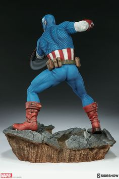 The new Avengers Assemble Captain America Statue by Sideshow Collectibles is now available for pre-order. Captain America joins the Iron Man Statue, which was posted back at the beginning of the month. The statue will stand at 15″ tall and will have a themed base. The Sideshow Exclusive version will have an interchangeable Silver Age Captain America head sculpt. Here are the details from Sideshow: Sideshow is proud to present America's mightiest hero in all of his patriotic glory! Inspired…