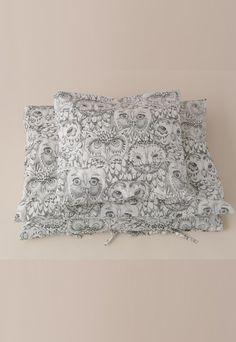 SOFT GALLERY ♥ BED SHEET AOP OWL - ADULT