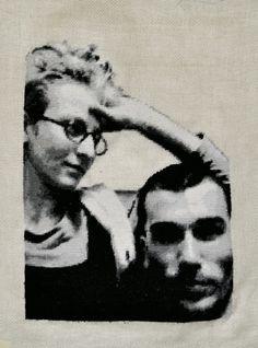 Anja Schäfer - Stickarbeiten -  embroidery art: Siegen 2