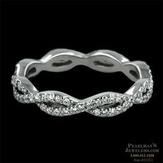 Infinity wedding band= beautiful