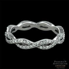 Infinity wedding band= beautiful