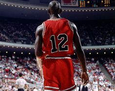 The time Michael Jordan wore No. 12