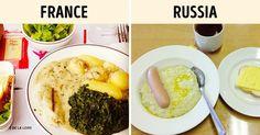 What Children Around the World Eat for Lunch atSchool