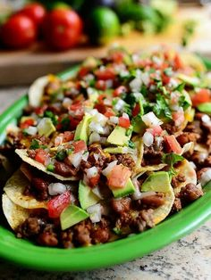 Healthy Nachos...