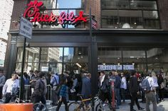 Behind Blur of Motion at Chick-fil-A, Years of Planning - WSJ