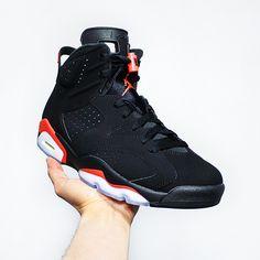 "6923f59ecbb279 GOTKICKZ on Instagram  ""Go check out my Air Jordan 6 Retro OG ""Infrared""  2019 on feet"