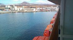 Puerto de Arrecife en Arrecife, Lanzarote