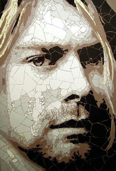 Cobain           #mosaic #portrait