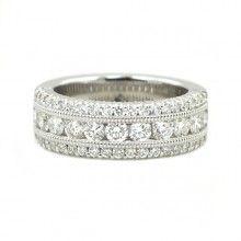 0.74 Carat Ben Garelick Royal Celebration 14kt White Gold Royal Crown Diamond Ring. http://www.bengarelick.com/designer/ben-garelick-royal-celebrations/0-74-carat-ben-garelick-royal-celebration-14kt-white-gold-royal-crown-diamond-ring